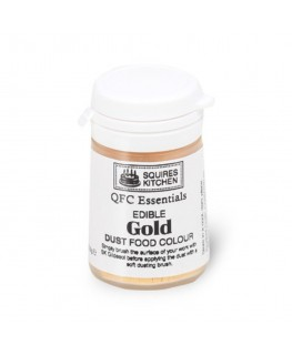 Squires Kitchen Quality Food Colour (QFC) Dust Gold 5.5g