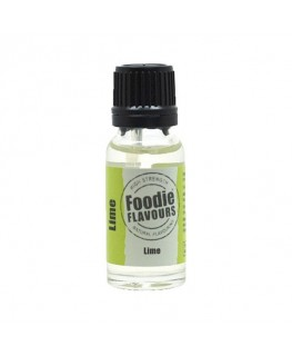Foodie Flavours Lime Natural Flavouring 15ml