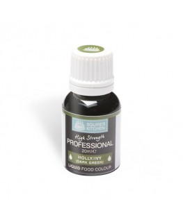 Squires Kitchen Professional Food Colour Liquid Holly Ivy Dk Green 20ml