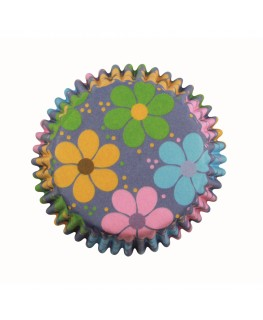 PME Flower Power Cupcake Cases 60pk