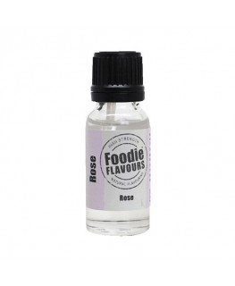 Foodie Flavours Rose Natural Flavouring 15ml