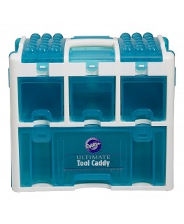 Wilton Ultimate Tool Caddy (White/Aqua)
