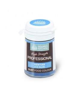 Squires Kitchen Professional Food Colour Dust Gentian Ice Blue 4g