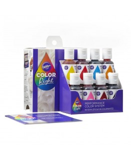 Wilton Color Right Kit of 8 Colours