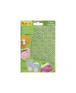 Makins Honey Comb, Weave, Eyelet & Lace Texture Sheets