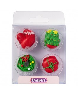 Culpitt Christmas Sugar Pipings 12pk