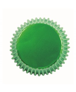 PME Metallic Green Cupcake Cases 30pk