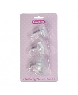 Culpitt Butterfly Plunger Cutter Set 4pc