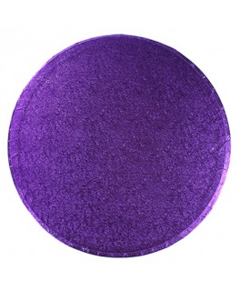 "Culpitt 10"" Round Purple Cake Board"