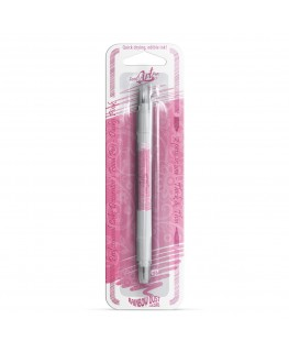 Rainbow Dust Double Sided Edible Food Pen - Dusky Pink