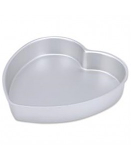"Wilton Decorator Preferred Heart Cake Pan 10"" x 2"""