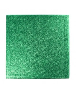 "Culpitt 10"" Square Green Cake Board"
