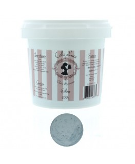 Claire Bowman Pearlised Silver Pre-Mixed Cake Lace 200g