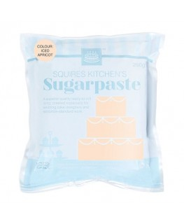 Squires Kitchen Sugarpaste Iced Apricot 250g