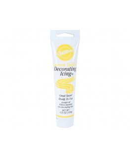 "Wilton ""EU"" Ready-to-Use Icing Tube Yellow 120g"