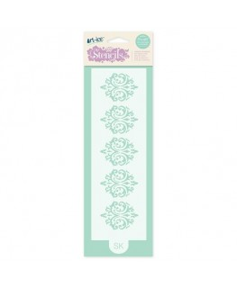 Squires Kitchen Art-ice Stencil Border Baroque