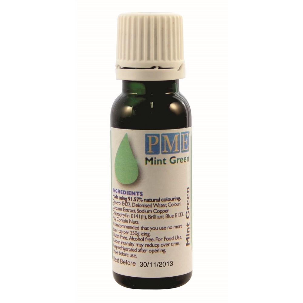 PME Mint Green Food Colouring 25g