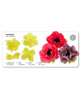 JEM Anemone Cutter Cutter Set 4pc