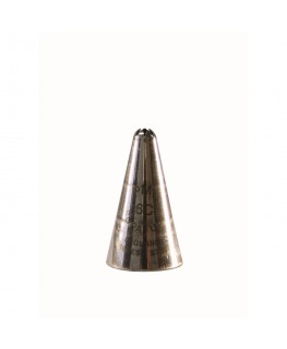 PME Supatube Stainless Steel Piping Nozzle - Closed Star #6