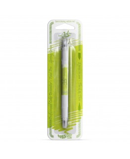Rainbow Dust Double Sided Edible Food Pen - Spring Green