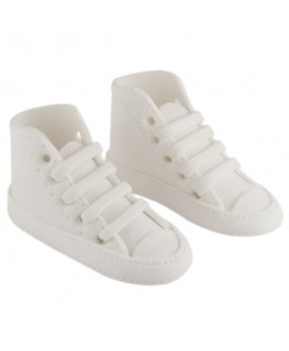 PME Handcrafted Sugar Decorations High Cut Sneaker White