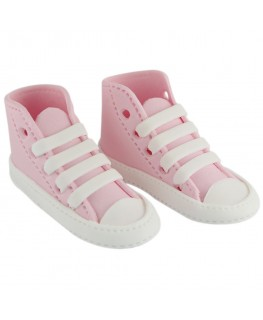 PME Handcrafted Sugar Decorations High Cut Sneaker Pink