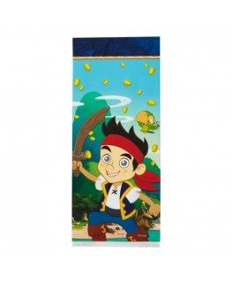 "Wilton Jake And The Neverland Pirates Treat Bags 4"" x 9.5"" 16pk"