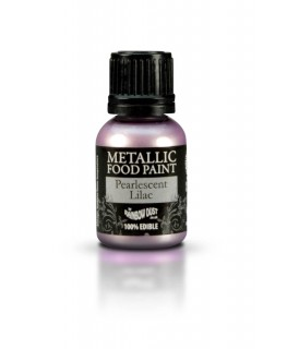 Rainbow Dust Metallic Food Paint Pearlescent Lilac 25ml
