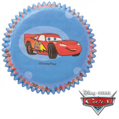 Wilton Disney Cars Standard Cupcake Cases 50pk