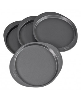 "Wilton Wilton Easy Layers! 8"" Cake Pan Set 4pc"