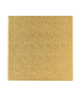 "Culpitt 10"" Square Gold Cake Board -"