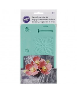 Wilton Flower Impession Set 2pc