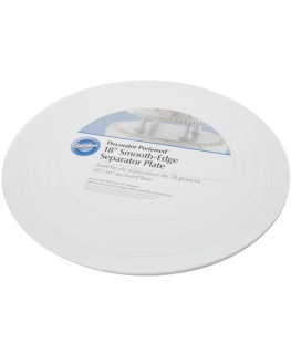 "Wilton 18"" Decorator Preferred Round Separator Plate"