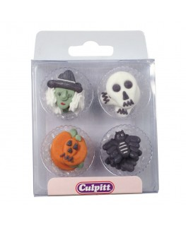 Culpitt Assorted Halloween Sugar Pipings 12pk