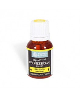 Squires Kitchen Professional Food Colour Liquid Daffodil Yellow 20ml