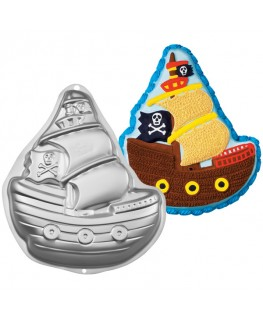 Wilton Pirate Ship Cake Pan