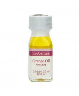 LorAnn Super Strength Natural Orange Oil, Flavor - 1 Dram (3.7ml)