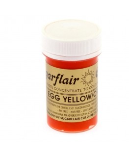Sugarflair Egg Yellow/Cream Spectral Paste Colour 25g