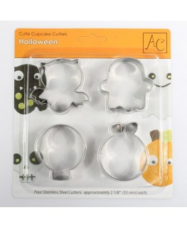 Autumn Carpenter Halloween Cutter Set 4pc