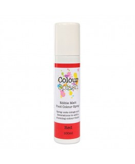 Colour Splash Edible Food Colour Spray Red 100ml
