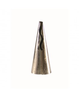 PME Frill Tube Stainless Steel Piping Nozzle - #80