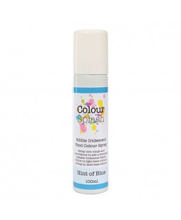 Colour Splash Edible Food Colour Spray Hint of Blue 100ml