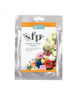 Squires Kitchen Sugar Florist Paste (SFP) Marigold Tangerine 100g