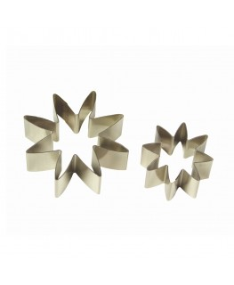 PME Daisy 8 Petal Stainless Steel Cutter Set Small 2pc