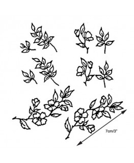 Marion Frost Patchwork Cutter Blossom & Leaves 80-165mm Set of 2 -