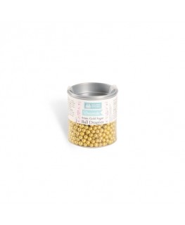 Squires Kitchen Gold Ball Dragees 4mm 38g