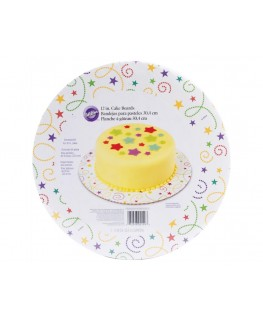 "Wilton Party Swirl 12"" Round Cake Boards 3pk"