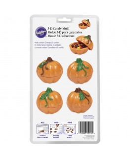 Wilton 3D Pumpkin Candy Mould
