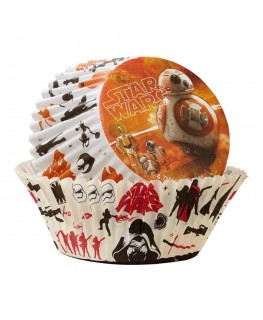 Wilton Star Wars The Force Awakens Cupcake Cases 50pk