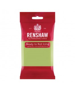 Renshaw Pastel Green Ready To Roll Fondant Icing 250g